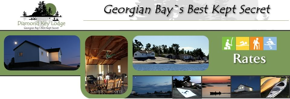 Lodge Rates - Diamond Key-Fishing, Kayaking, Family Fun